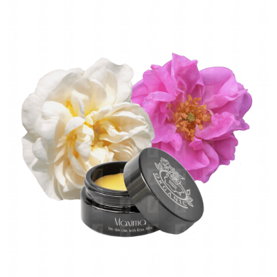 Hydrating organic Rose facial balm