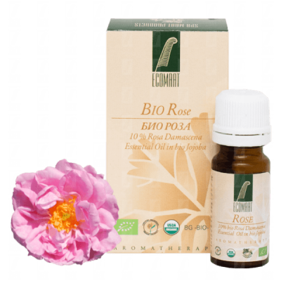 Organic Bulgarian Rose oil Ecomaat