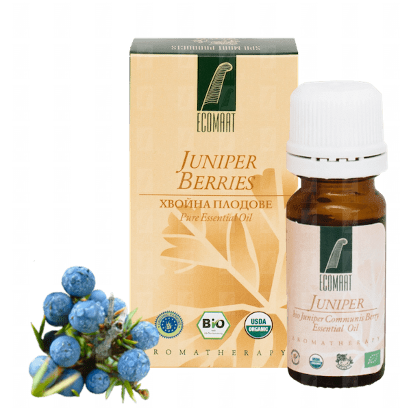 Organic Juniper Berry oil 10ml (Fructus Juniperus Communis) Ecomaat)