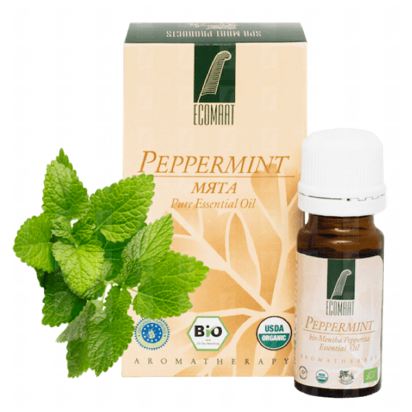 Pure Peppermint organic oil 10ml (Mentha Piperita) Ecomaat