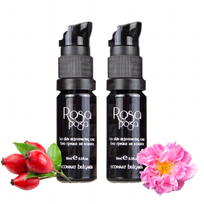 anti age Rose facial serum - Rejuvenating Bio skin