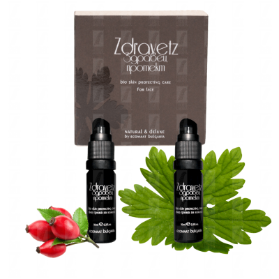 Purifying and antioxidant Zdravetz serum - Protecting Bio skin (Geranium)