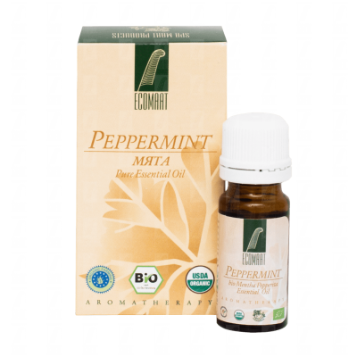 Pure  Mentha Piperita organic oil 10ml
