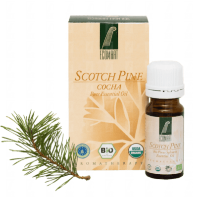 Pure Scotch pine organic oil 10ml (Pinus silvestris) Ecomaat